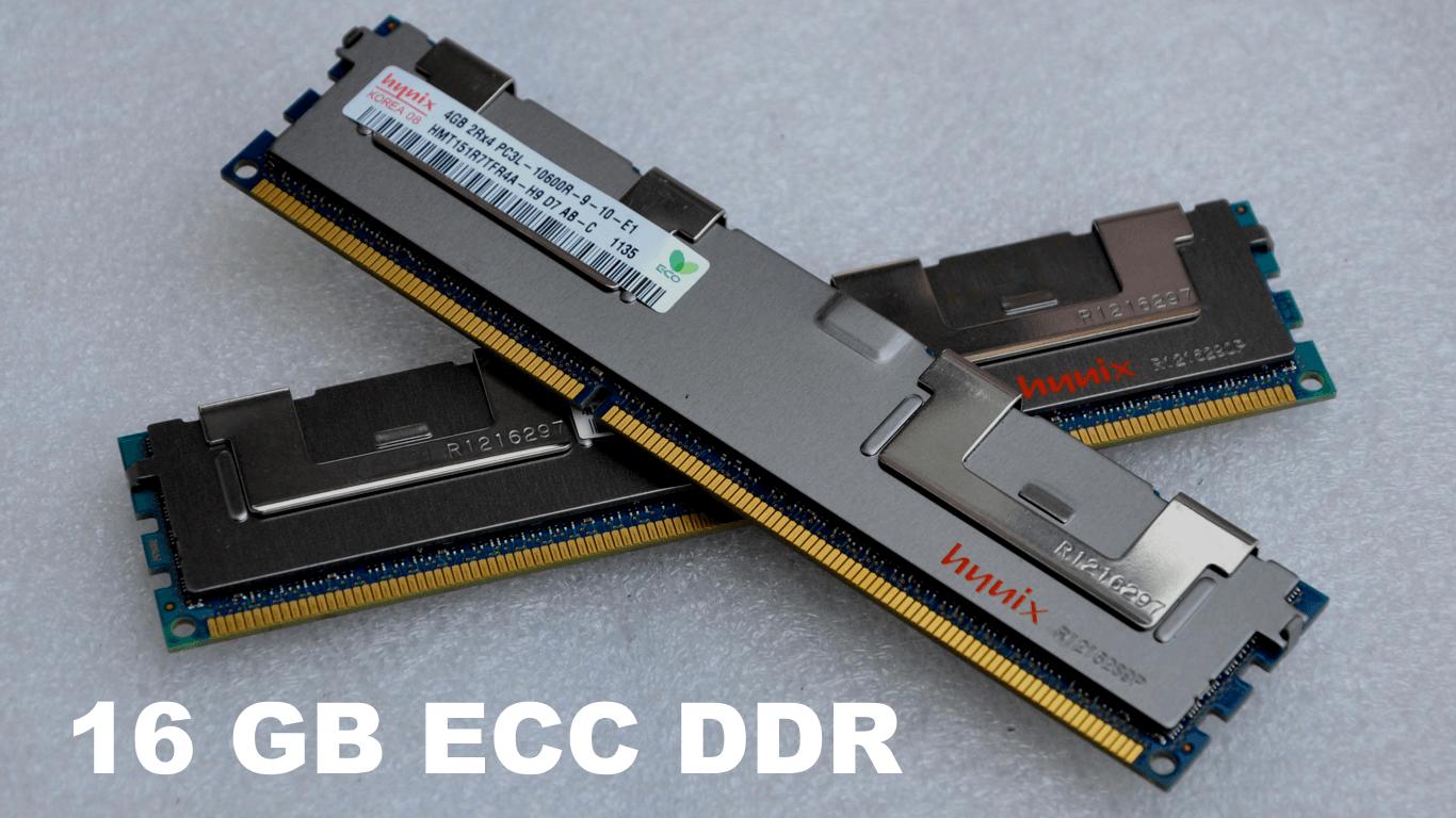 16 GB ECC DDR SDRAM