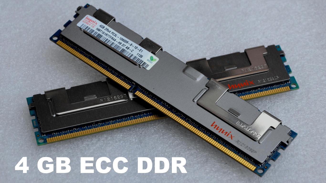 4 GB ECC DDR SDRAM